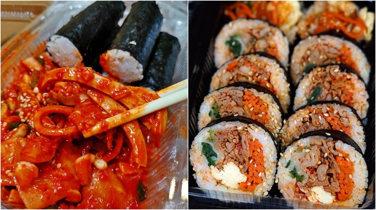 [花蓮市美食]這係咖啡韓食堂-韓國歐巴賣韓國飯捲 韓式魷魚泡菜  馬西搜喲  早上就有賣喲  韓國人在花蓮喲 花蓮韓式料理아주 맛있어요 @跳躍的宅男