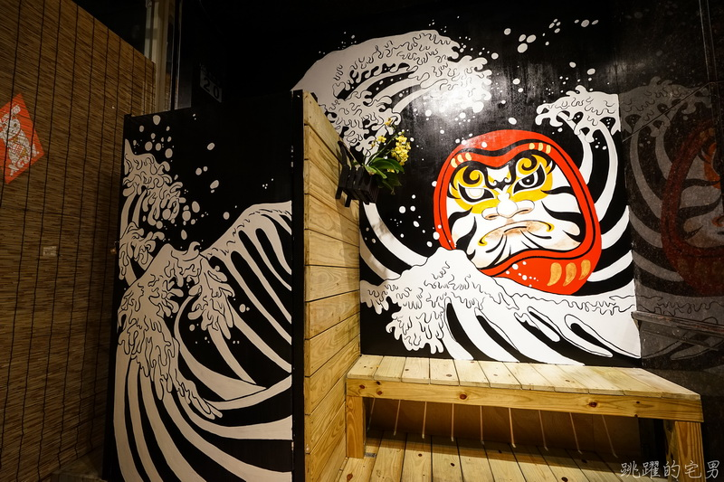 [花蓮市宵夜]竹汌日式居酒屋-舒肥牛排 炸蝦壽司 再來個明太子中卷 適合朋友聚會地點 花蓮居酒屋
