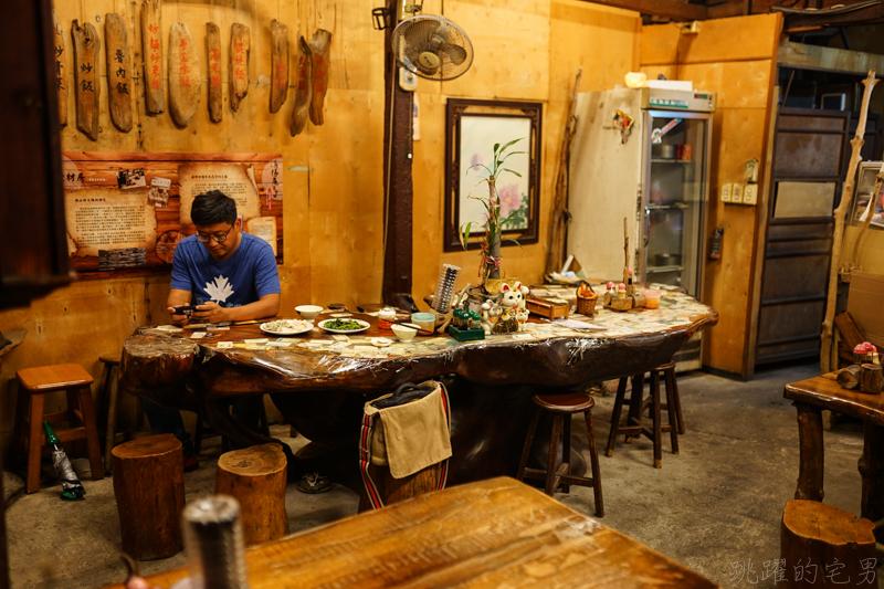 [花蓮市美食]老材房-好有氣氛50年木造老屋 檜木家具 實惠又好吃的炒拉麵 羊排湯及現煮大滷麵  大推! 愛玩客花蓮美食推薦(內有詳細菜單)