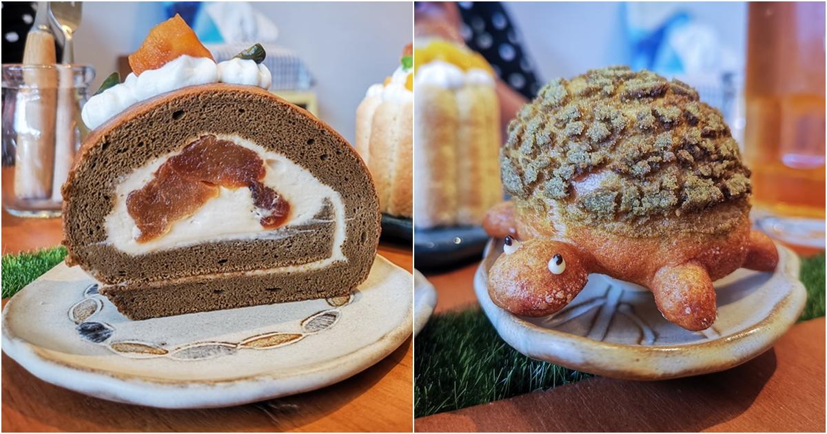 網站近期文章:[花蓮甜點]Artemion's bakeshop蛋糕小賣所-海龜泡芙真可愛 蛋糕捲真好吃 不定期更換菜單 務必查看營業時間 花蓮文創旁