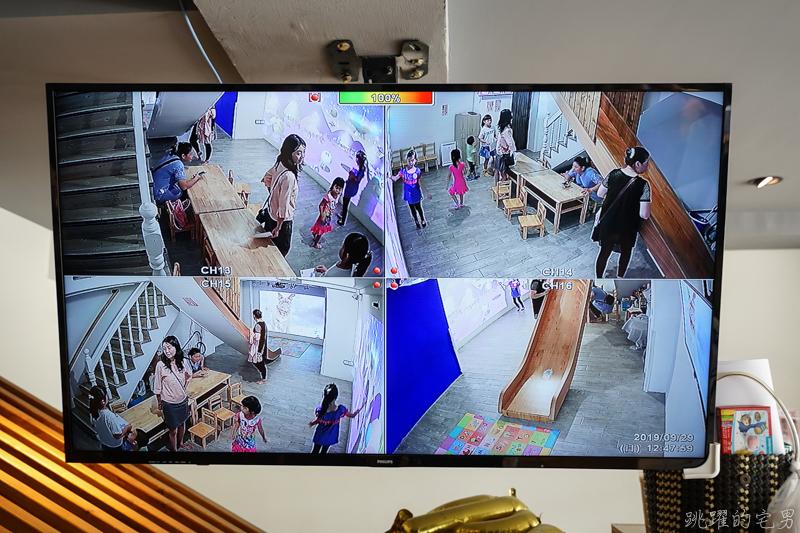 [台南親子餐廳]等咧粉圓五妃概念館- 小朋友瘋打怪 AR實境互動遊戲 海底世界互動遊戲玩不停 還有室內大型溜滑梯、鍋燒意麵 手工粉圓推薦 停車場就在對面