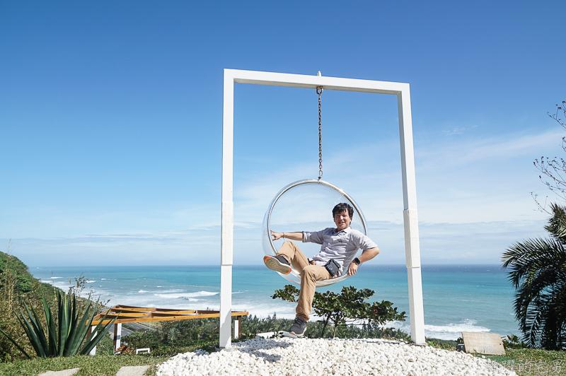 [花蓮海邊咖啡廳]山度空間-IG網美花蓮必拍景點  透明圓球盪鞦韆超夢幻 超過80公斤跟我這樣拍  鄰近遠雄海洋公園 花蓮景點 台11線景點