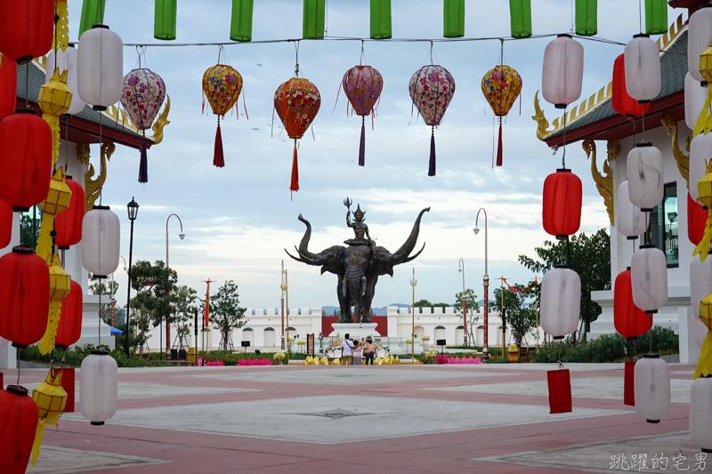[泰國芭達雅景點]暹羅傳奇樂園-泰國2019年最新開幕主題樂園 耗資40億泰銖 佔地25公頃  感受泰國77府傳統建築 舞蹈表演 泰服體驗  真人版幽魂娜娜鬼屋超驚嚇   The Legend Siam Pattaya