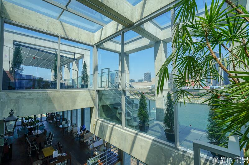 [韓國釜山咖啡廳]오후의홍차 午後的紅茶-連韓國節目都來取景的河景咖啡廳  頂樓露天座位整個城市美景映入眼簾  地鐵206 Centum City站步行10分鐘