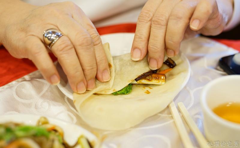 [台北美食]北平上園樓-合菜戴帽真的不只是炒蔬菜加蛋  貓耳朵、老滷羊羔凍  讓我重新愛上北方菜 善導寺美食 山西餐廳
