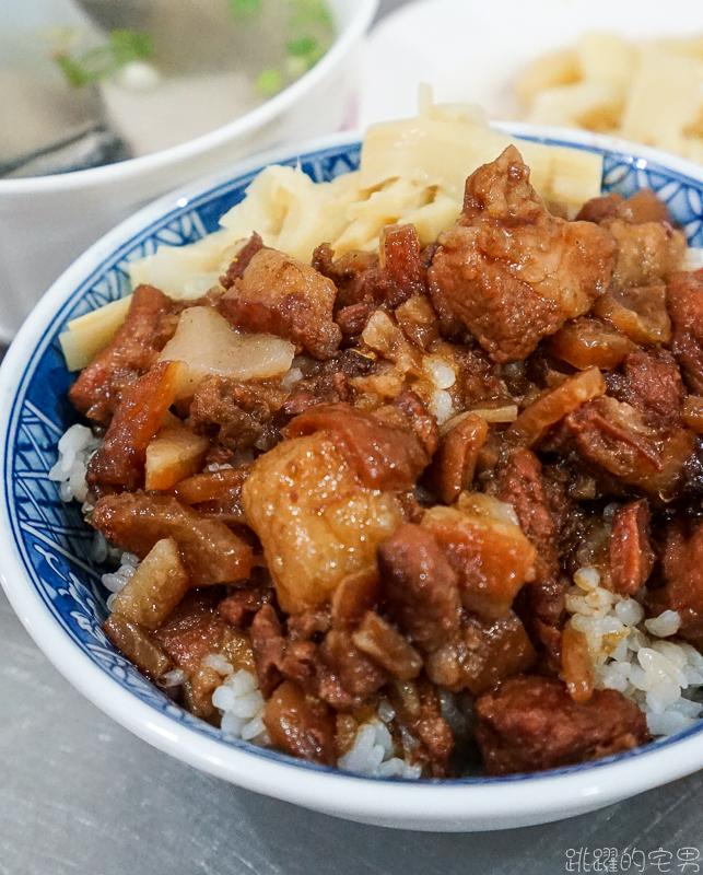 [花蓮美食] 福建街台南虱目魚-碎肉塊的魯肉飯吃過嗎?  環境乾淨 下午沒休息 不重口味會想一直去 花蓮滷肉飯推薦
