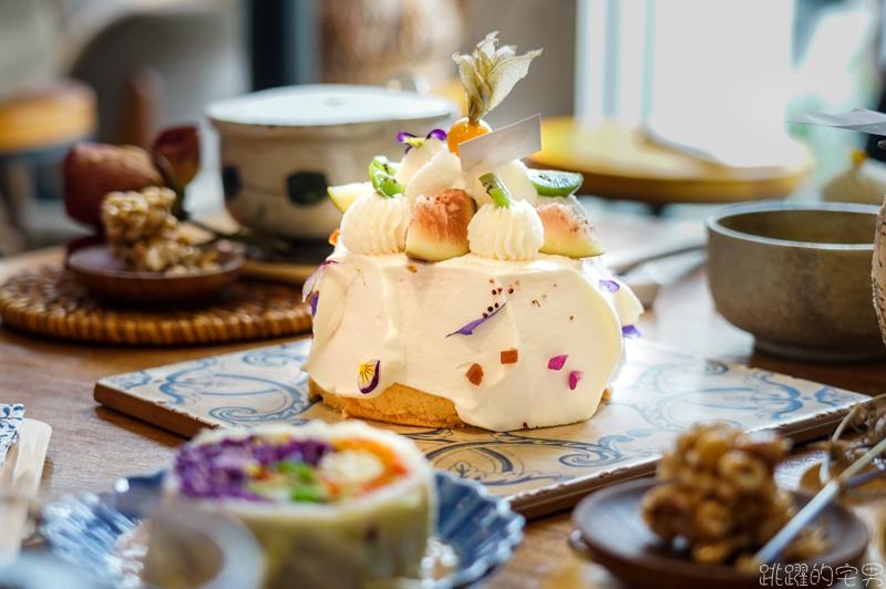 5+商行 一個午後的美好 與法國橙花戚風蛋糕的相遇 花蓮甜點推薦
