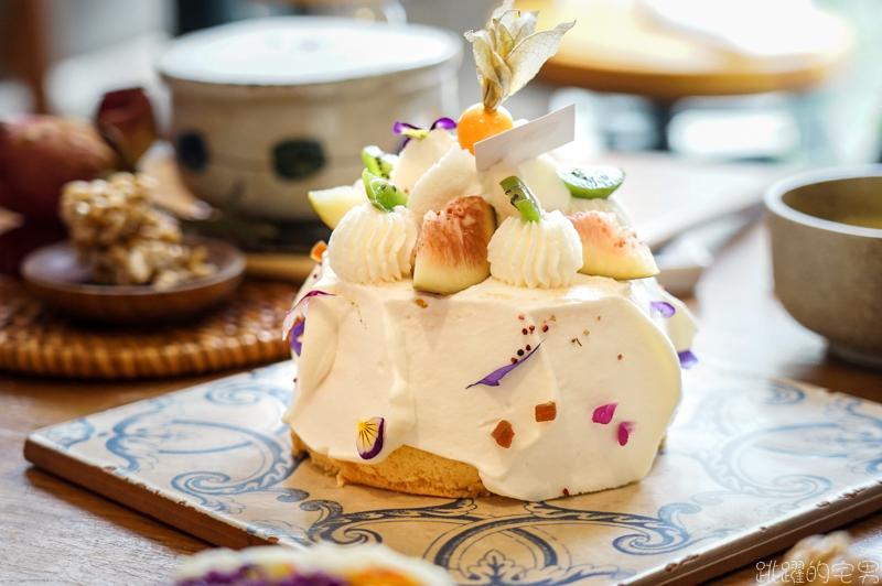5+商行 一個午後的美好 與法國橙花戚風蛋糕的相遇 花蓮甜點推薦 @跳躍的宅男