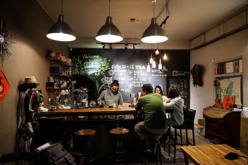 [花蓮瑞穗咖啡廳]二訪好茶咖啡工作室- 舒服環境 提供有機蜜香紅茶 品嘗迦納納咖啡 花蓮有貓咖啡廳 舞鶴紅茶 吉林茶園 台灣咖啡 @跳躍的宅男