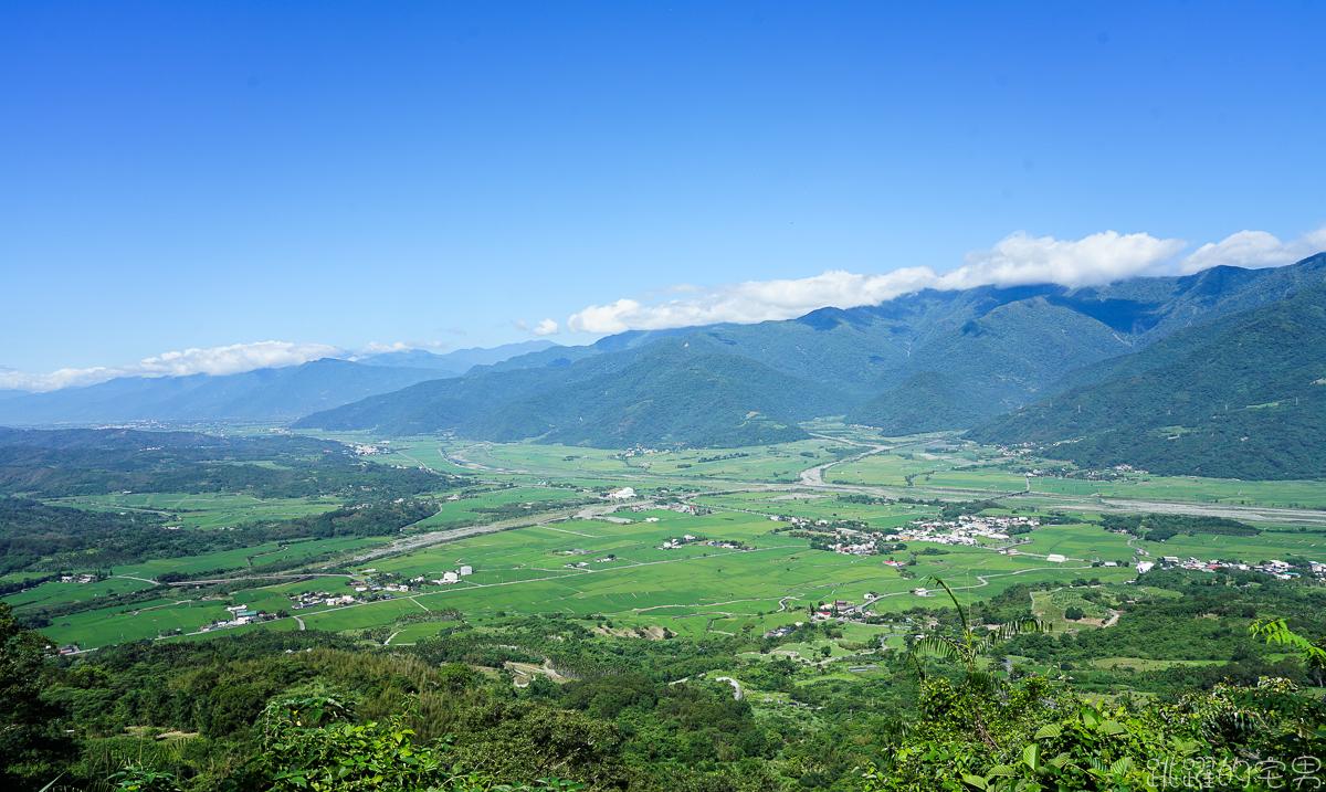 [花蓮景點] 六十石山我獨享! 登高望遠 一次看盡花東縱谷山清水秀美景 沒金針花都美到不行的無人秘境