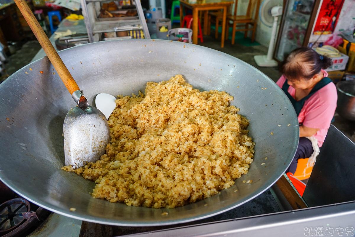 [鳳林美食]娥媽小吃-早上6點就開賣的無招牌花蓮老店 炒麵好好吃 客家粽子端午節這裡也吃得到
