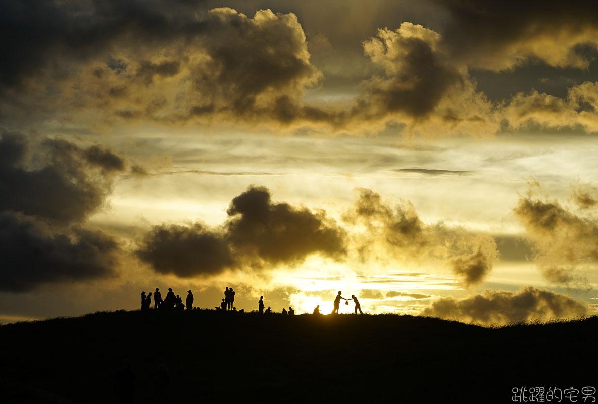 [蘭嶼景點]青青草原-看蘭嶼夕陽必去景點  草原大得驚人 踏青野餐好去處  附詳細入口地圖 @跳躍的宅男