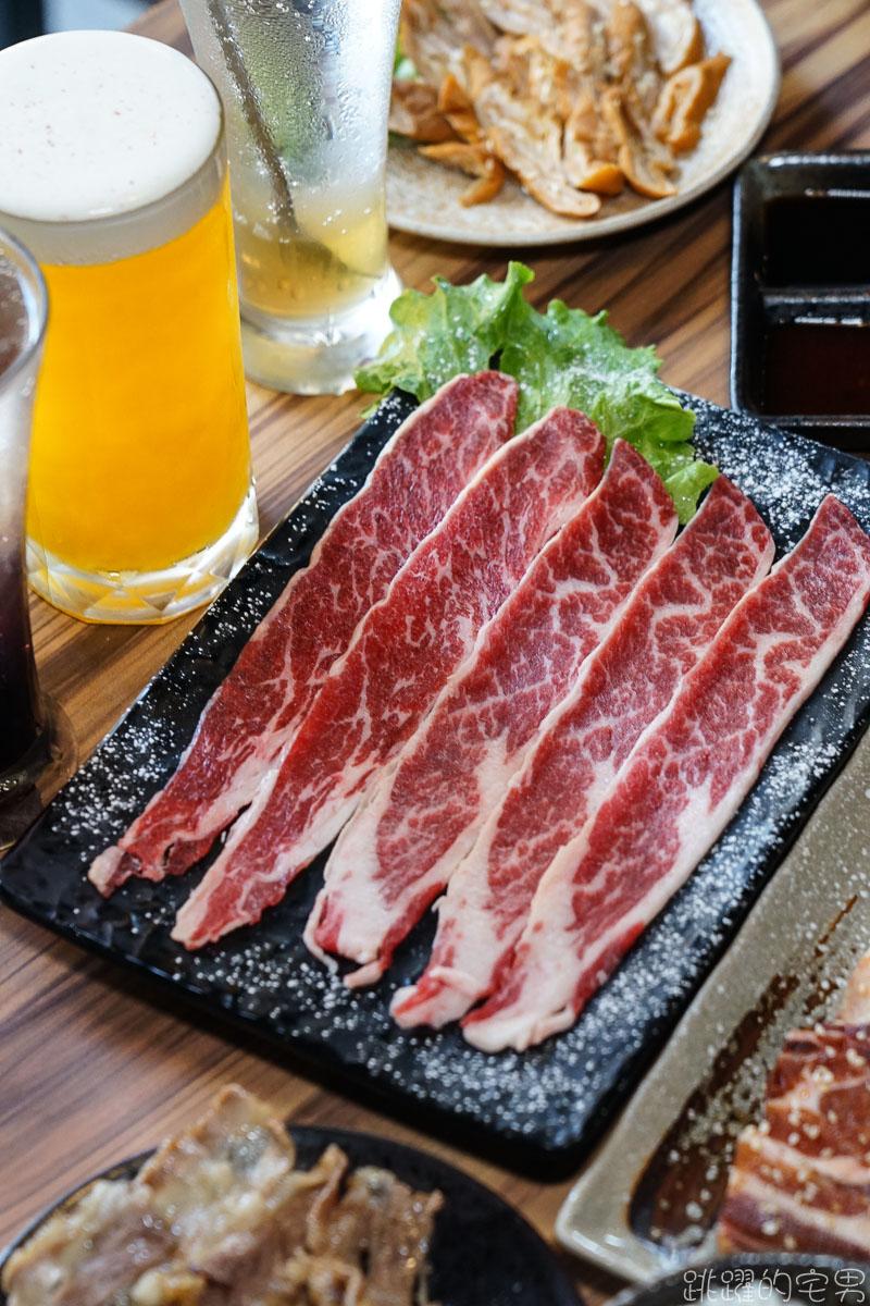 [ 桃園燒肉]和東燒肉-牛舌七吃還有桌邊服務 直火碳烤風味十足 2-3人套餐中午輕鬆吃 旁邊停車場 桃園美食