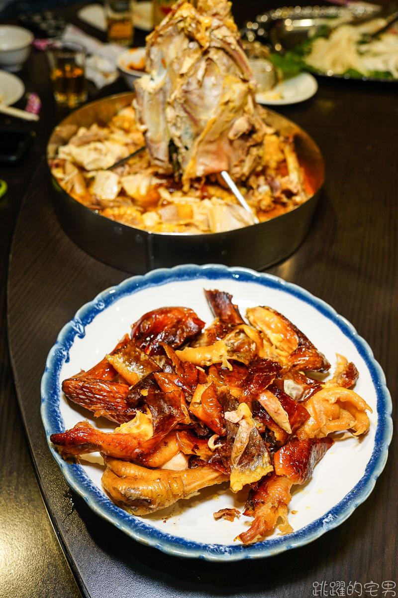 [花蓮美食]夯肉中式餐酒館- 網美餐廳吃中菜,桶仔雞、麻辣燙 烤黑喉 份量足到吃不完 花蓮有包廂餐廳還能唱歌 花蓮聚餐好選擇