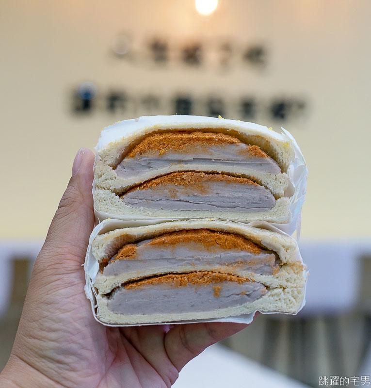 [中和捷運站美食] 晨食宵夜早午餐-芋頭控看過來 滿滿芋泥肉鬆三明治只要40元 從早餐到宵夜都吃得到 晨食宵夜早午餐菜單 中和美食 中和宵夜