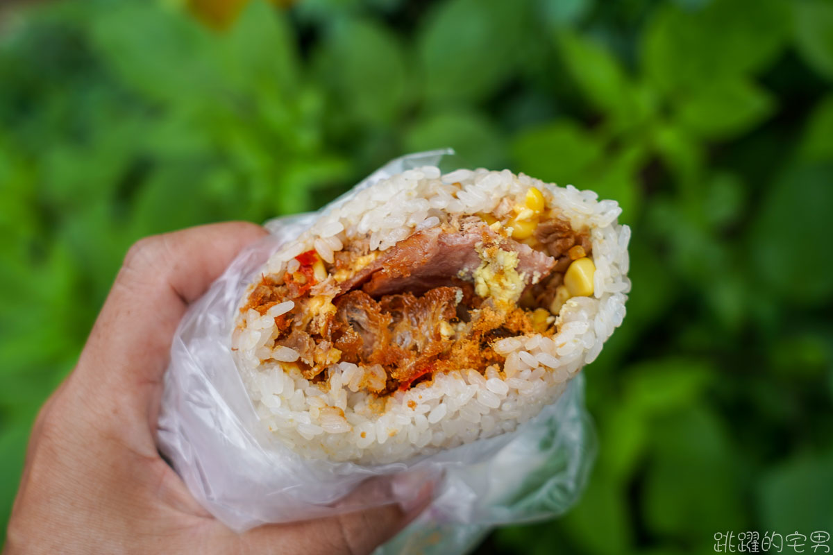 [花蓮早餐]拉古飯糰-木桶炊飯口感就是好 大推紫米飯糰  最愛飯糰就是你了 新開店就每天排隊 使用林家香肉鬆味道更好 吉安早餐 花蓮美食  吉安美食