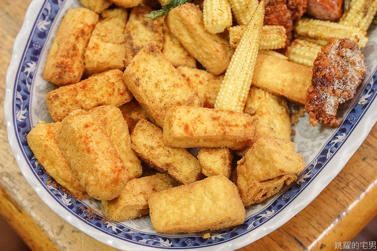 [台南北區美食]文賢鹹酥雞- 台南這間30年的鹹酥雞 從小孩吃到當爸爸還在吃 咕咾肉 手工地瓜薯條 還有脫油機吃起來更清爽 台南鹹酥雞