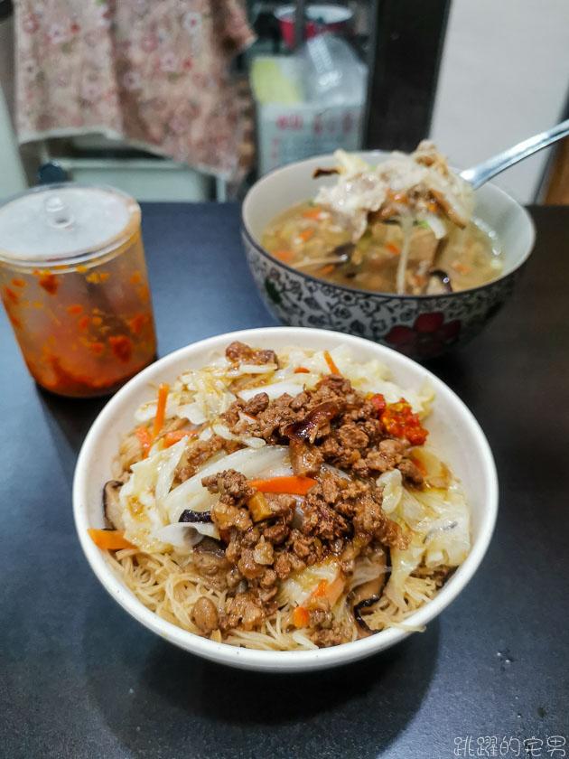 [花蓮小吃]尤嫲嫲好口味-好吃的炒米粉味道十足  晚上也有得吃  雜菜羹溫潤順口 兩個是絕配 花蓮下午不休息餐廳 花蓮美食