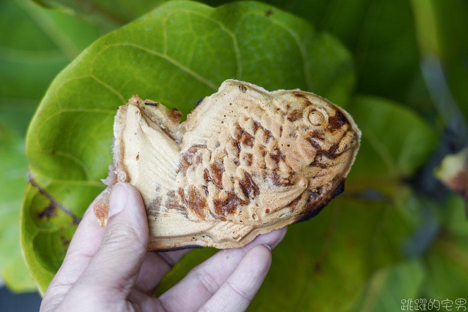 [花蓮甜點]星野天然鯛燒- 日本傳統鯛魚燒技法 「一丁燒」 口感超厲害還有獨特香氣  千萬不要開店就去  花蓮鯛魚燒