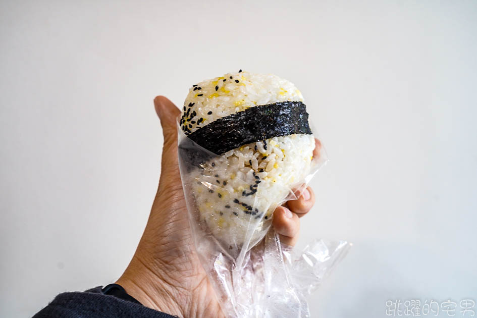 [花蓮吉安早餐]花蓮林媽媽飯糰-不能吃糯米的人有福了 這間花蓮飯糰不是用糯米 小米混合白米飯糰  沙茶飯糰好吃又夠味 紫米飯糰 吉安美食 吉安早餐