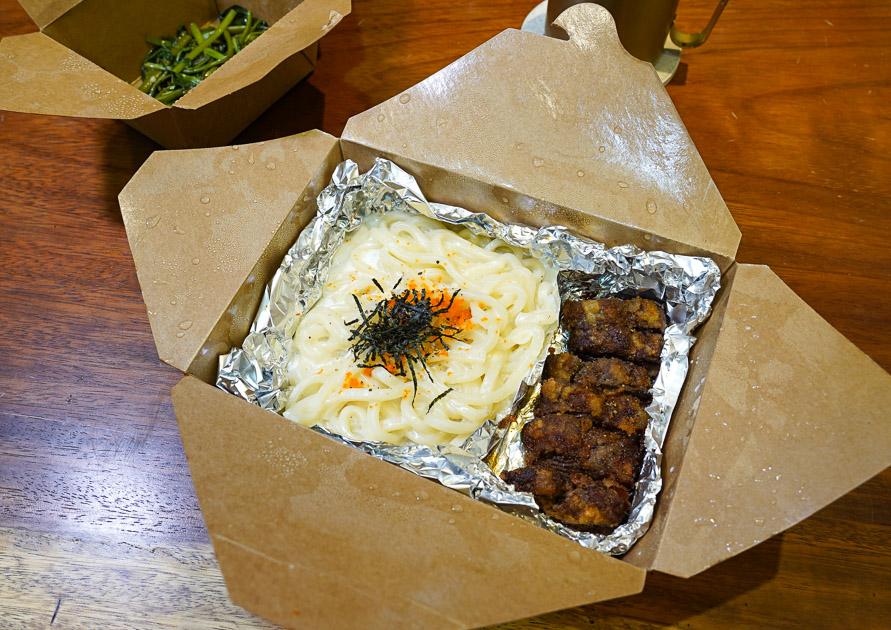 [花蓮美食]極焰精緻燒肉推出防疫餐盒-炸牛排燃麵套餐、黑松露燉飯、燒肉牛丼   花蓮便當外帶