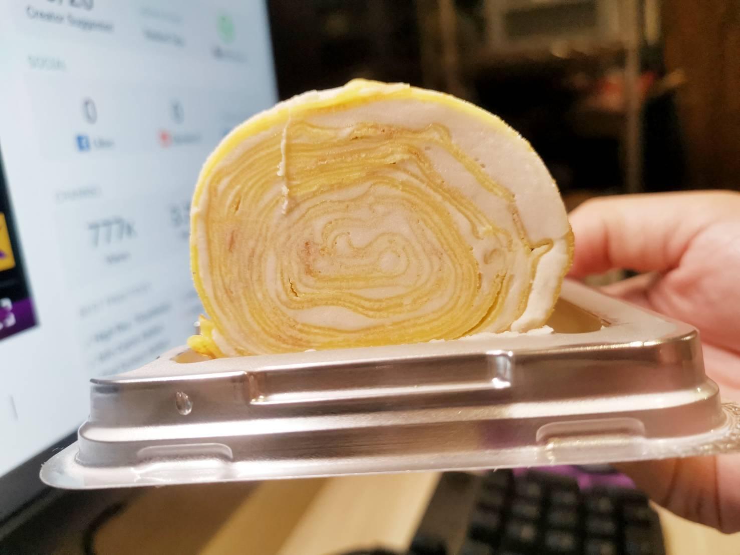 [全聯甜點]芋頭控看過來-全聯與鎮瀾宮聯名推出15款等多樣芋頭甜點鹹食,通通都用大甲芋頭做的喔 大推芋泥千層捲