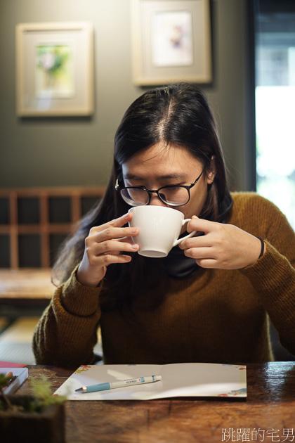 朝露咖啡-鐵支路旁的咖啡廳  自家烘焙咖啡豆 靜謐空間 沉穩木製家具 放鬆度過下午時光@跳躍的宅男
