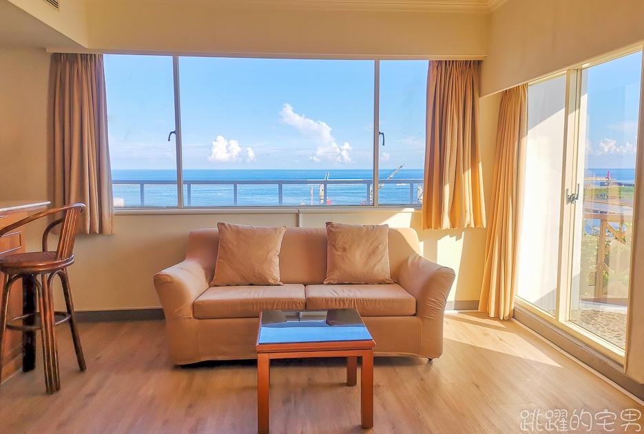 花蓮市就有看海飯店 認真海景第一排  絕美太平洋就在眼前  吃飯逛景點超方便@跳躍的宅男