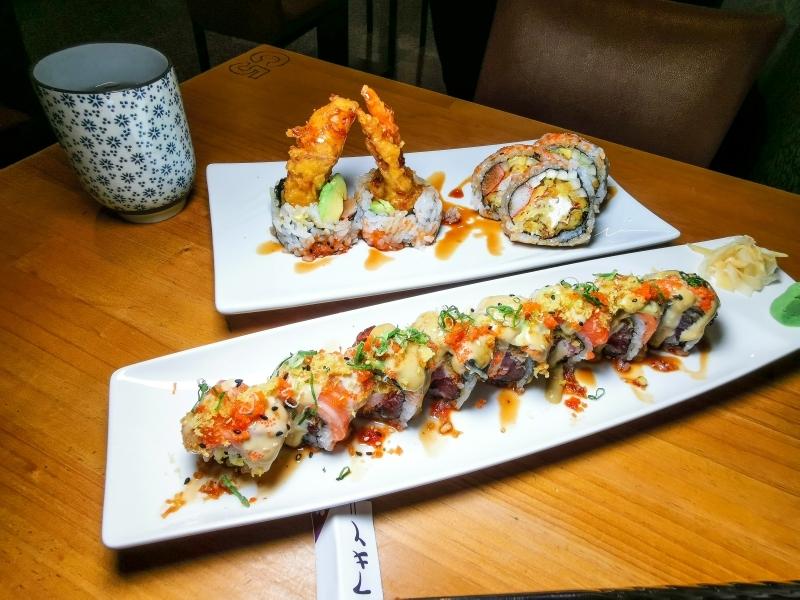 [花蓮美食]美式壽司花蓮也能吃得到 口感超豐富完全不像再吃日本料理-121美式壽司 @跳躍的宅男