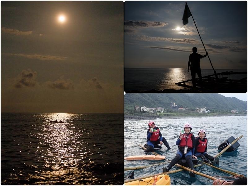 [花蓮旅遊]月光海下獨木舟 浪漫又充滿神秘的海洋體驗 @跳躍的宅男