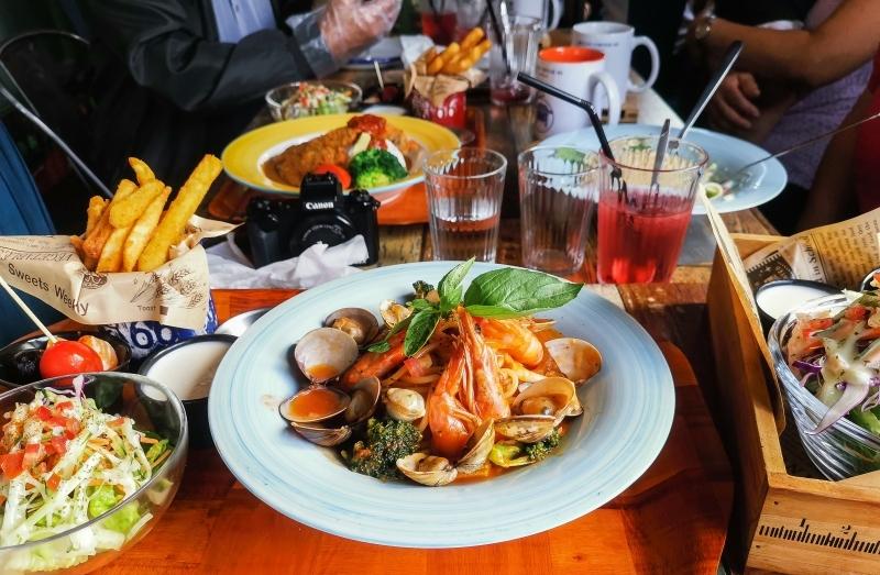 [花蓮美食]二訪海濱街角101-新推出義大利麵 花蓮海邊下午茶餐廳早午餐 @跳躍的宅男