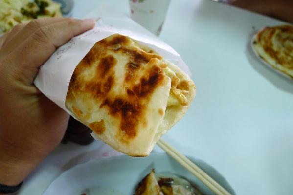 [花蓮吉安]二訪南埔純手工早點-我都是吃他的煎餃及有獨特密技做出燒餅! @跳躍的宅男