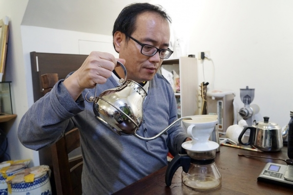 [花蓮吉安]沈醉咖啡-多年自烘咖啡豆 沈廷憲老師獨特手沖 味覺敏銳真的做什麼都好吃啊! @跳躍的宅男