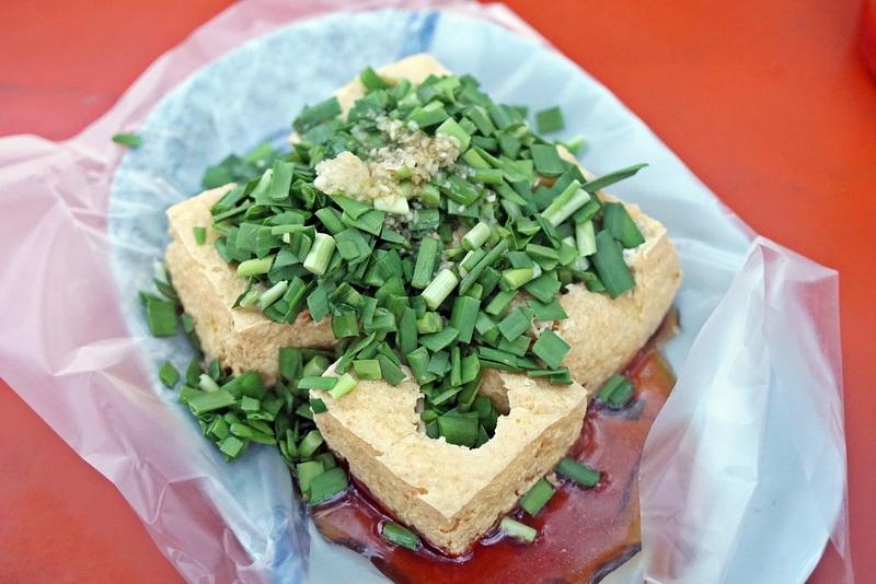 [花蓮鳳林]停車場惠鈺韭菜泡菜臭豆腐-這就是花蓮的味道 @跳躍的宅男