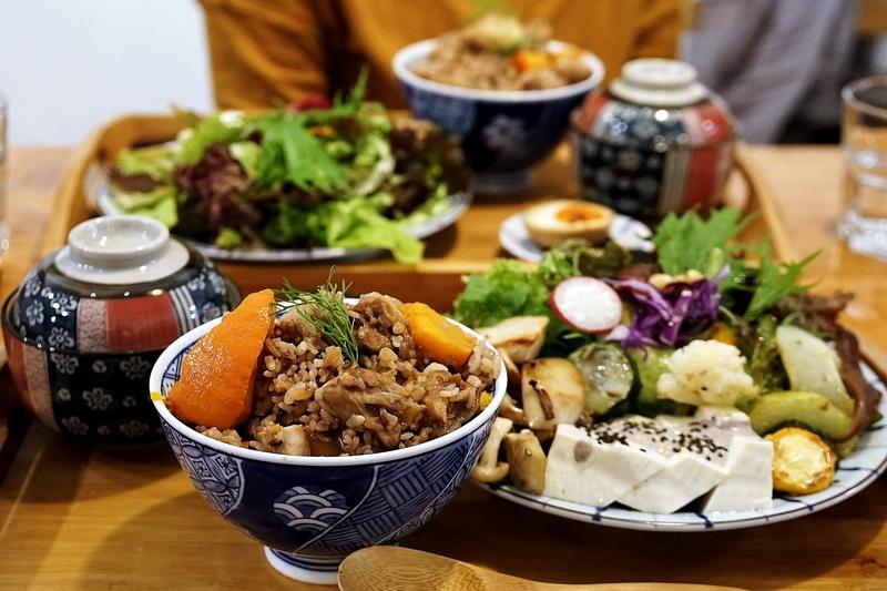 [花蓮市]糧晨吉食-沒有漂亮華麗裝潢,卻有著用心料理的好食物 非常推薦炊飯 需要前一天預定唷 @跳躍的宅男
