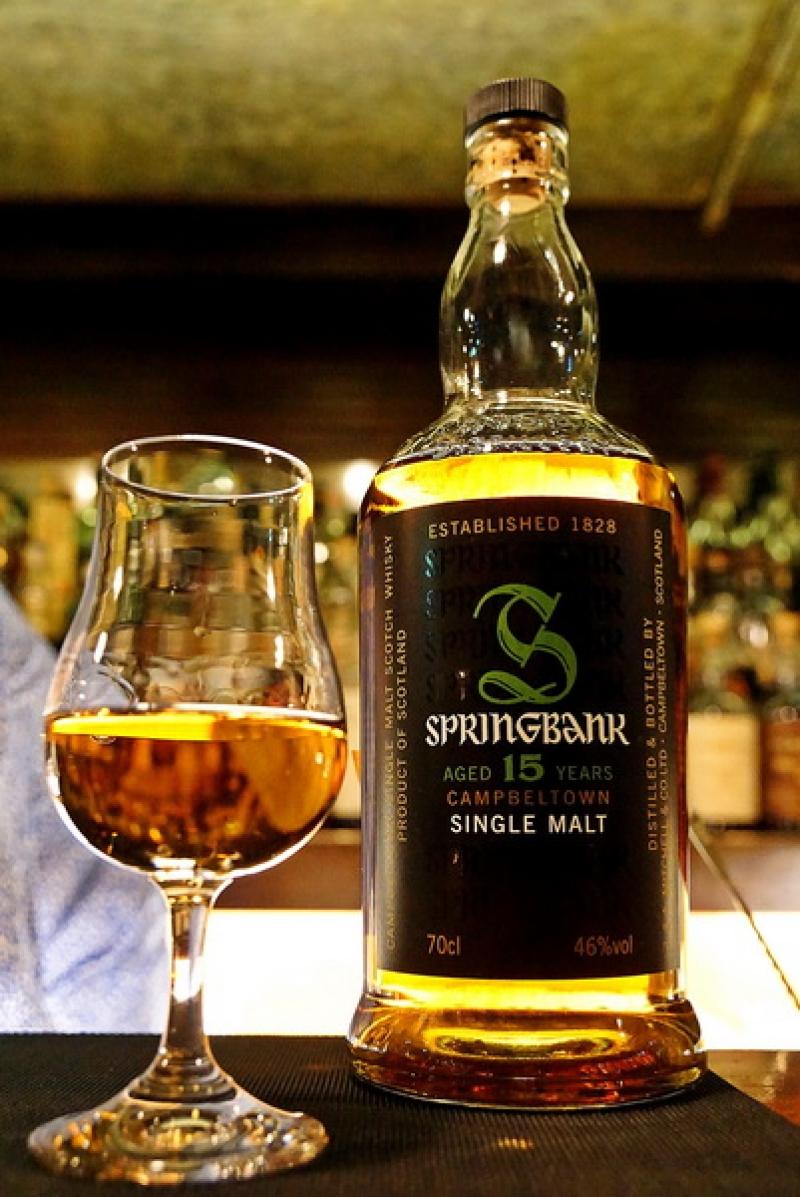 英國雲頂15年單一麥芽蘇格蘭威士忌  Springbank 15 @跳躍的宅男