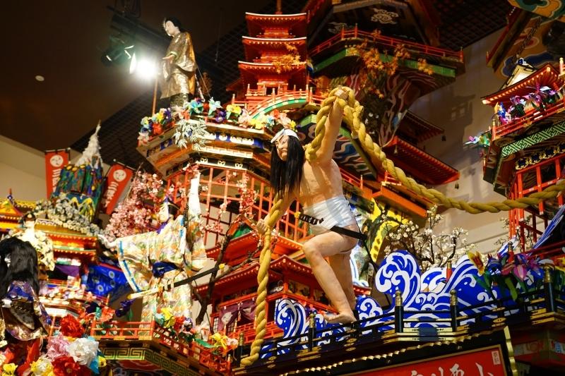 [日本-九州-大分]日田祇園山鉾會館-不只是超過300年山車 而是凝聚地方向心力的象徵 @跳躍的宅男