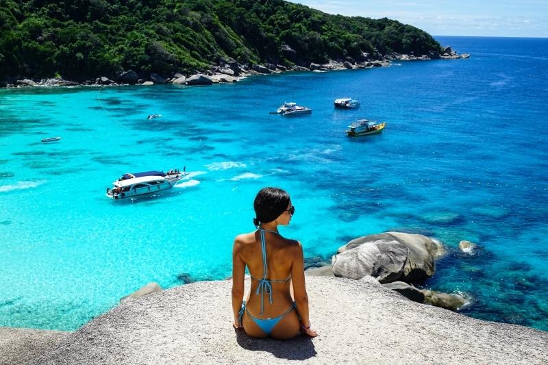 [泰國旅遊]斯米蘭群島-夢幻漸層湛藍無暇海洋,細粉純白沙灘,泰國跳島之旅,世界十大潛水勝地 @跳躍的宅男