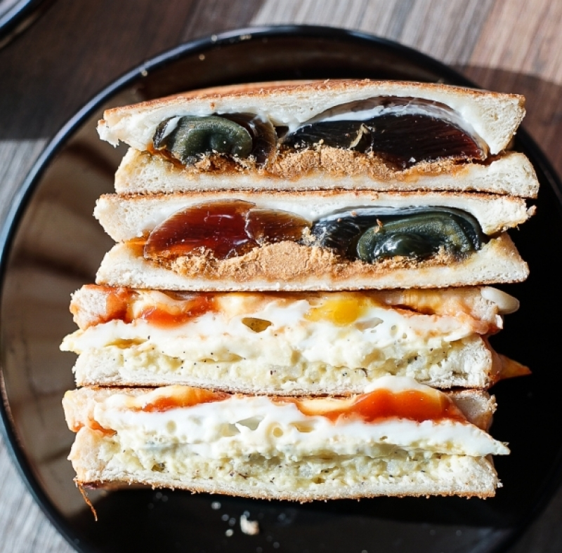 [花蓮美食]老司機創意三明治-吐司烤得好酥脆 皮蛋肉鬆&馬鈴薯沙拉就是我的愛 花蓮早午餐 花蓮後火車站美食推薦 #VLOG @跳躍的宅男