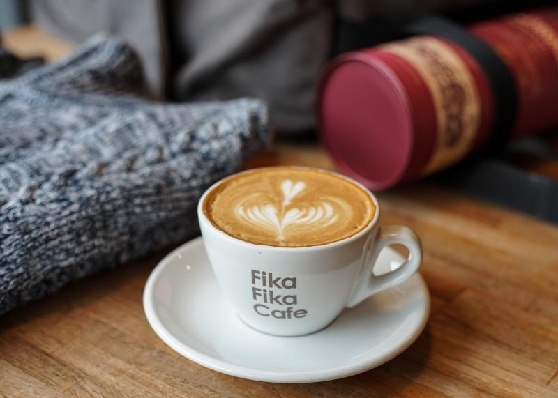 [松江南京咖啡廳]Fika Fika Cafe-北歐生活風格咖啡廳喝著冠軍咖啡享受慵懶時光  中山區咖啡廳推薦 @跳躍的宅男
