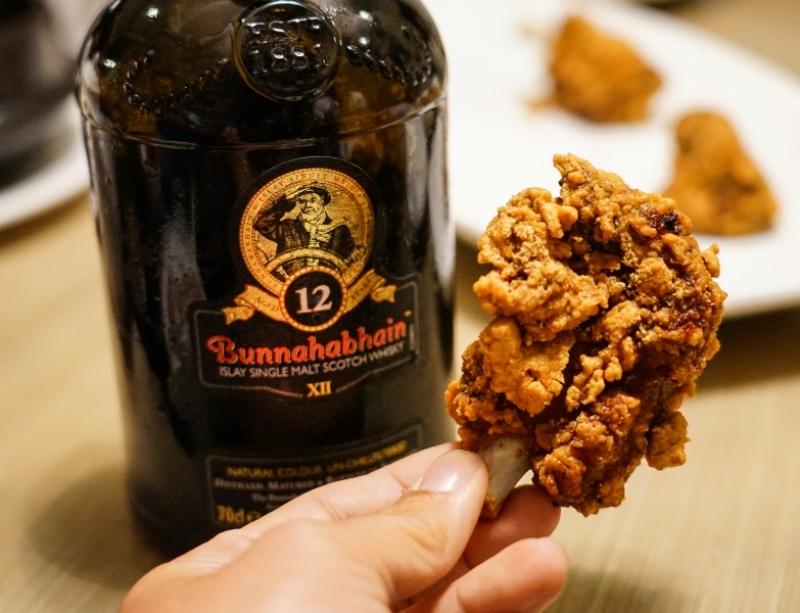 Bunnahabhain布納哈本12年威士忌與米其林一星台菜餐廳的相遇  威士忌搭配中式料理就是這麼對味 @跳躍的宅男