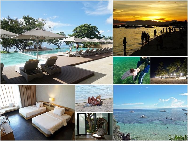 [菲律賓薄荷島]Amorita resort 阿莫里塔度假村-絕美清澈大海,走在雪白沙灘上看著夕陽,放假就是要慵懶慢活啊 @跳躍的宅男