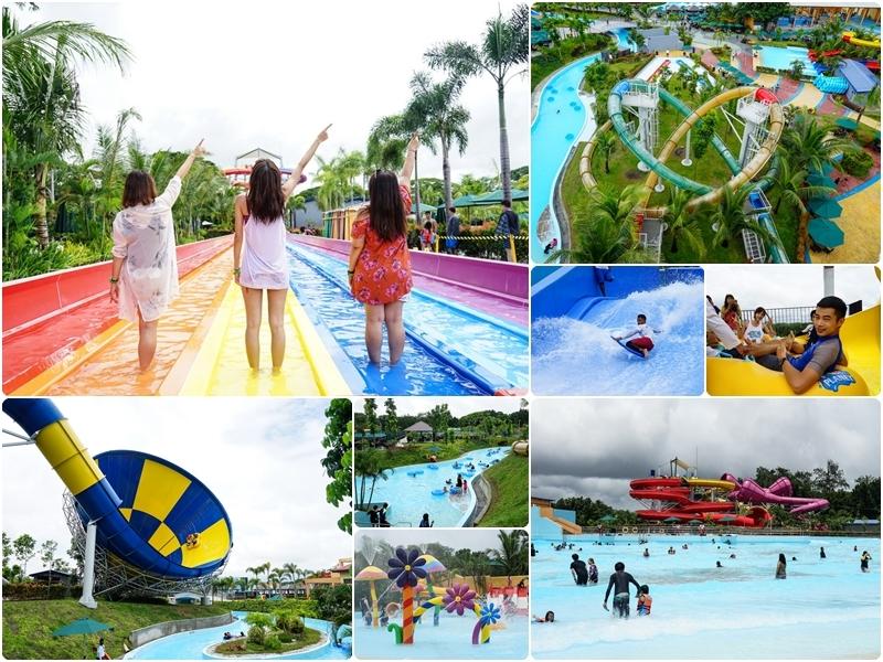 [菲律賓旅遊]東南亞最大水上樂園 Aqua Planet 2018全新開幕! 克拉克景點 @跳躍的宅男