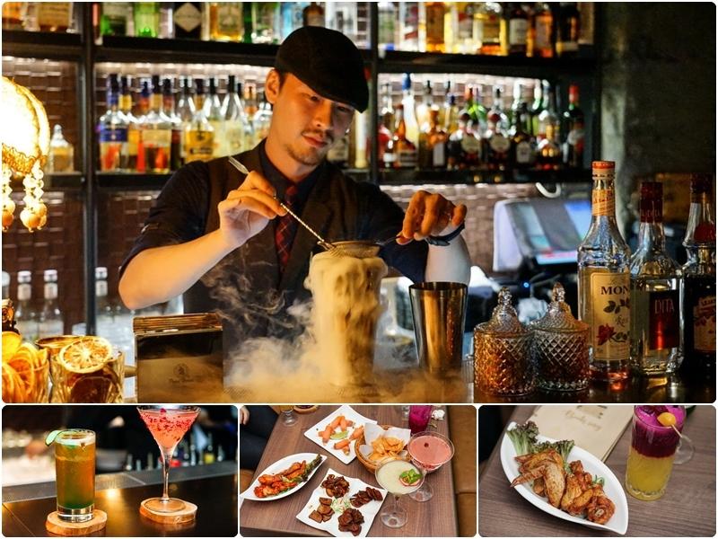 【台北酒吧】Book ing bar-隱身東區巷弄中特色酒吧  迷人分層調酒與美味酒食另人難忘 @跳躍的宅男